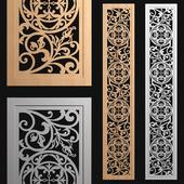 decorative panel-partition №3
