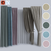 Set of curtains 3