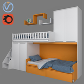 Furniture for children SOPPALCHI KIDS from MORETTICOMPACT