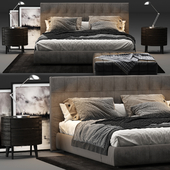 Poliform Arca Bed