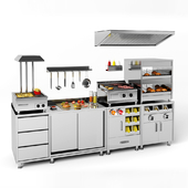 Orest equipment for fast food