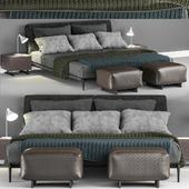 Bed Flexform Adda bed