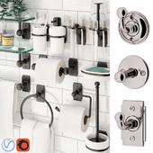 Bathroom accessories Nanzaquatic. Collections: Baluster, Functional, Art Deco.