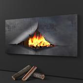 Omegafocus fireplace, Focus