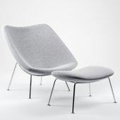 Oyster lounge chair by Artifort