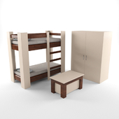 Teen Bunk Bed Group