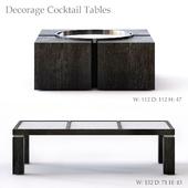 Bernhardt Decorage Cocktail Tables