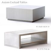 Bernhardt Axiom Cocktail Tables