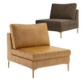 Slub Velvet Edlyn Chair