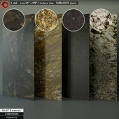 Granite Slab Set 147