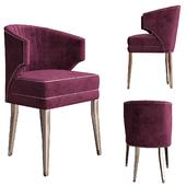 Ibis dining chair by Brabbu