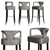 Karoo bar chair by Brabbu