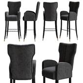 Davis bar chair by Brabbu