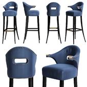 Nanook bar chair by Brabbu