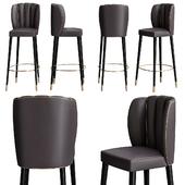 Dalyan bar chair by Brabbu