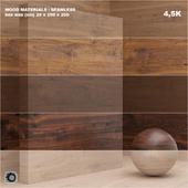Material wood / veneer (seamless) - set 25