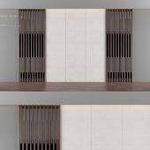 Wood panel and cloth 1