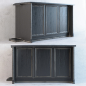Cabinet, chest for cleaning weapons