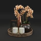 Orchid Decoration Set