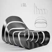 Soul armchair by Daa Italia