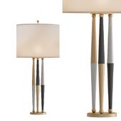 Magnificent Lightolier Harlequin Brass Lamps