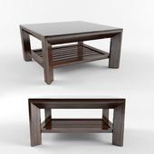 Tea table wood