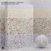 Material (seamless) - coating, stone, quartz set 49