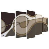 Abstract Art - Decorative Panel COSMOS