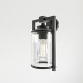 Street lamp Ali 1-Light Outdoor Sconcet