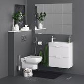 Godmorgon Toilet Set