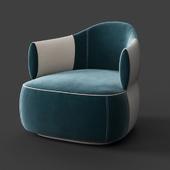 Trussardi armchair Casa Larzia Armchair