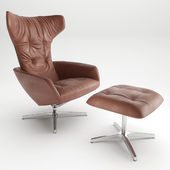 Armchair Onsa Chair by Walter Knoll