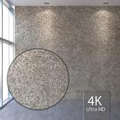 Facade covering (plaster, gravel) 399