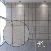 Concrete wall 401