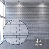 White brickwork 415