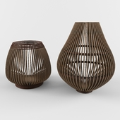 Decorative Wooden Basket