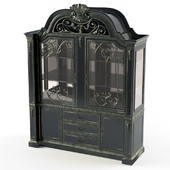gothic black sideboard