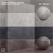 Материал (бесшовный) - покрытие, камень, штукатурка set 54