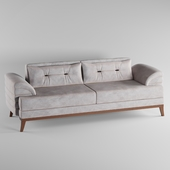 Perla Furniture's Madrid CollectionEuro-Americana style chic living room sofa