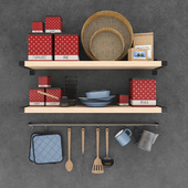 Old kitchen set