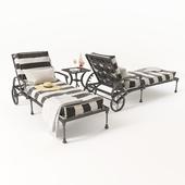 Chaise lounge Amalfi Chaise