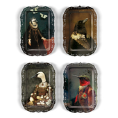 Serving trays- Pia, Bianca, Ambroise, Bernardo by Ibride