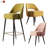 Essentialhome Collins Chair and Bar stool Set