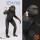 The Monkey Lamp Standing Version