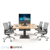 Actiu Power Office Desking