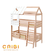 "Children's bed ""City"" (high)"