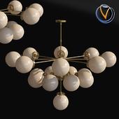 Modernist oval shade Pendant