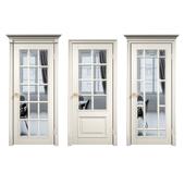 "Lavan. Interior doors. Series ""Framed F-English grille""."