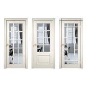 "Lavan. Interior doors. Series ""Framed X-English Grille""."