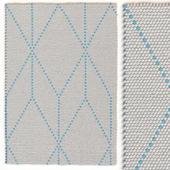 Carpet Hay Dot carpet Big blue rug